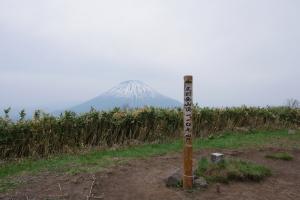 尻別岳頂上