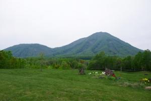 南東から見た尻別岳