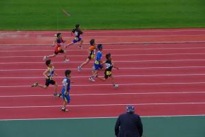 小3男子100m予選