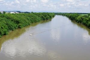 豊平川下流