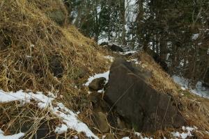 明神ヶ岳山頂溶岩