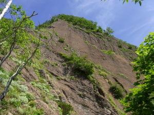 定山渓天狗岳西岩壁