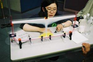 火砕流実験装置