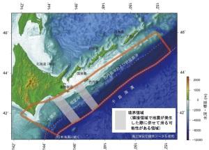 千島海溝地震検討範囲