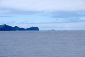 神威岬全景
